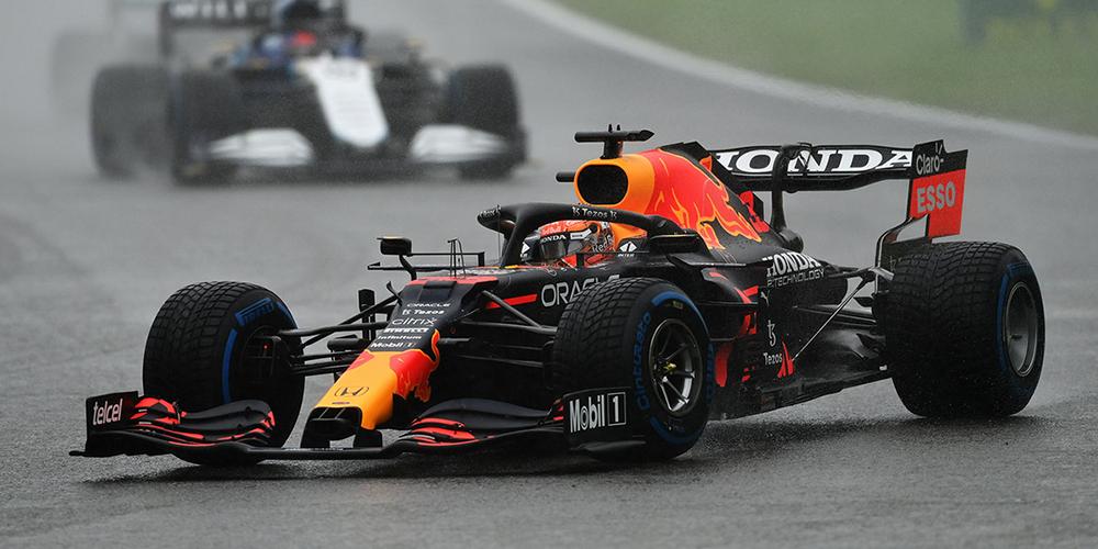 En photos, Max Verstappen remporte l'événement Rain-Marred en Belgique
