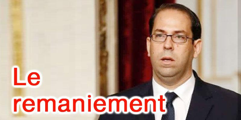 Le remaniement de Youssef Chahed touche à 13 ministères et 5 secrétariats d'Etat