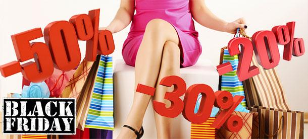 Aujourd'hui, jusqu'à 50% de réduction sur les vêtements…