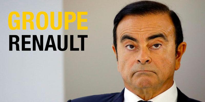 Carlos Ghosn démissione de Renault