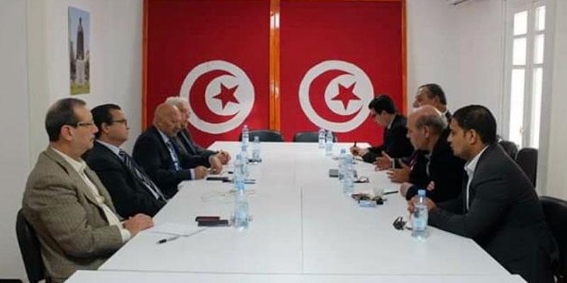 Rencontre entre la Tunisie d'abord et Al-Jomhouri