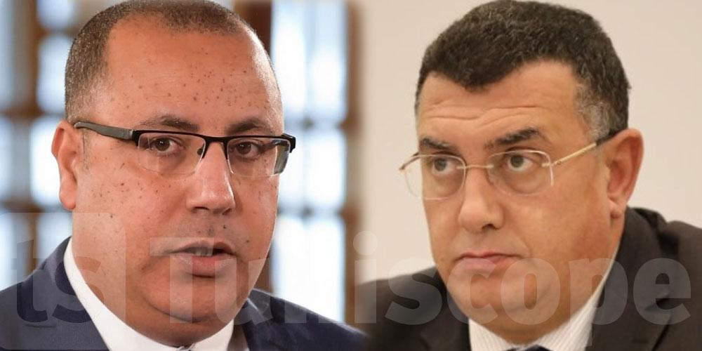 Ce que l'on sait sur la rencontre entre Hichem Mechichi et Iyadh Elloumi