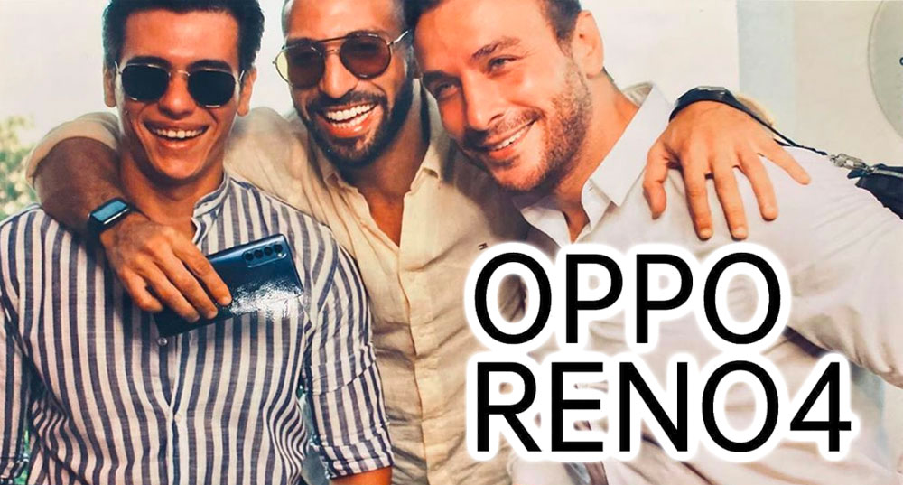 Les stars sous le charme des magnifiques OPPO Reno 4 Pro et Reno 4