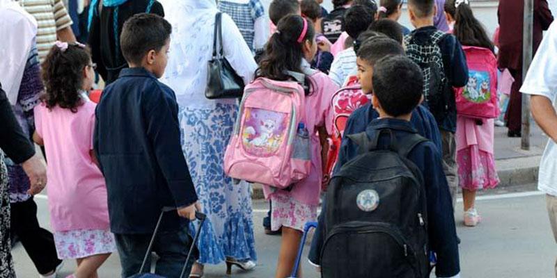 Quelque 2 millions 174 mille élèves ont repris le chemin de l école