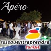 Réseau Entreprendre Tunisie, invite ses lauéats et ses chefs d'entreprises autour d'un apéro