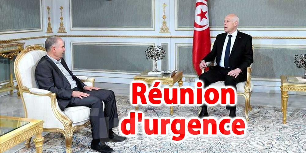 Réunion d'urgence entre Saïed et Taboubi