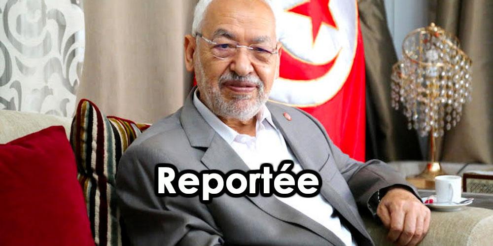 La réunion consacrée à la motion de censure contre Ghannouchi à l'ARP reportée