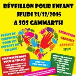 3ème édition de l'initiative ''Réveillon pour enfant'' le 31 décembre à SOS Gammarth