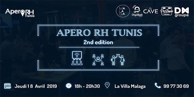 La deuxième Édition Apero Rh Tunis : 18 Avril 2019