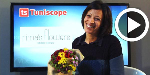 En Vidéo-Rima's Flowers : L'art du bouquet personnalisé