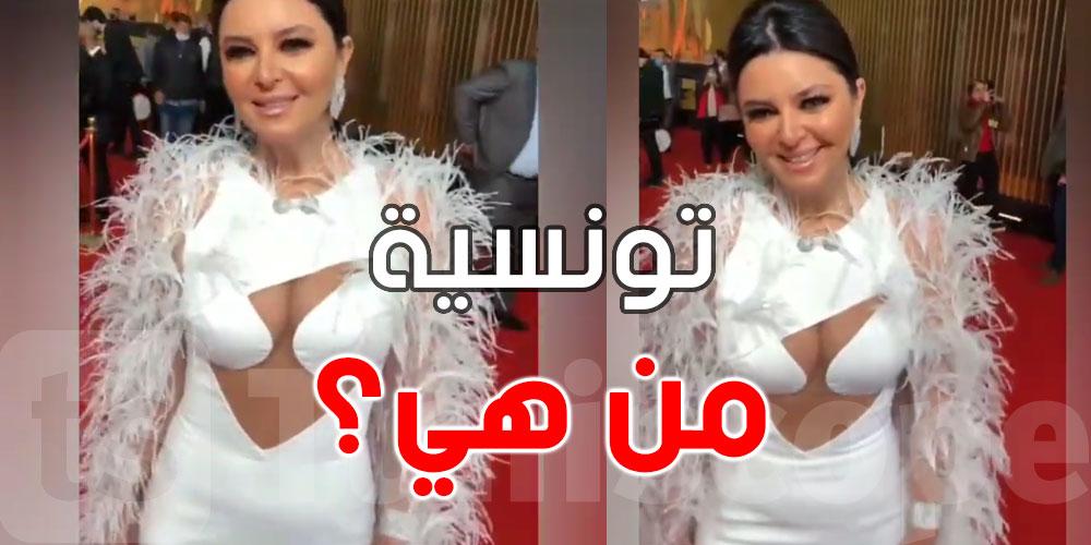 بالفيديو .. تونسية تحدث ضجة باطلالتها الجريئة في مهرجان القاهرة