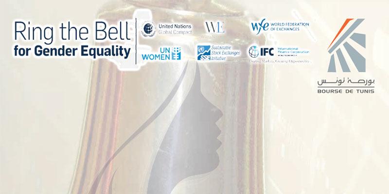 Célébration de la journée internationale de la Femme à la Bourse de Tunis