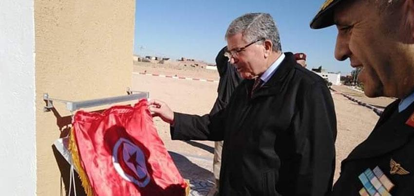 وزير الدفاع الوطني يضع حجر الأساس للقاعدة الجوية برمادة