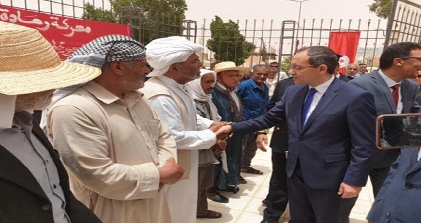 رمادة :وزير الداخلية يشرف على احياء الذكرى 61 لمعركة رمادة