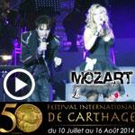 En vidéo : Concert de la troupe Mozart l'opéra Rock