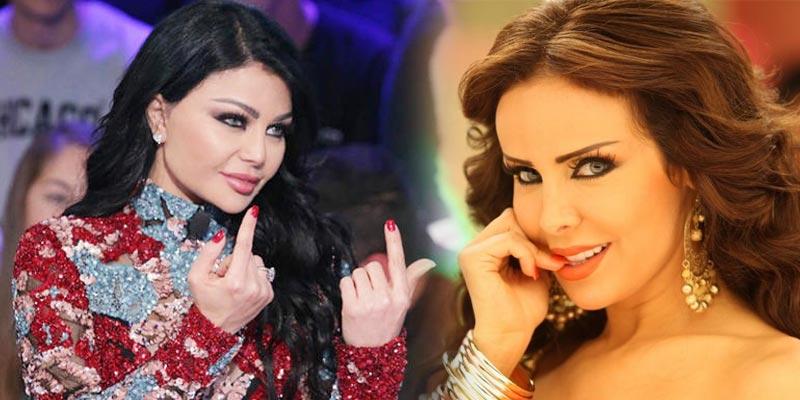 ما قصة تسريب الفيلم الإباحي بين رولا سعد وهيفاء وهبي؟