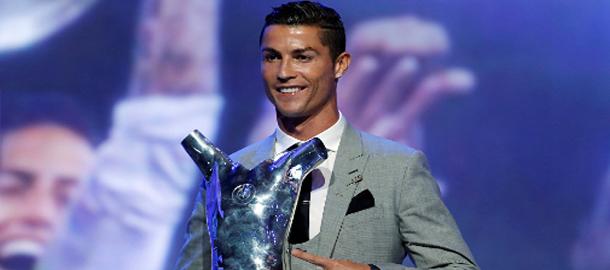 رونالدو يفوز بجائزة أحسن لاعب في أوروبا لعام 2017