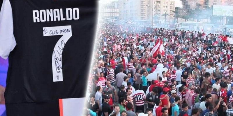 Photo du jour : Le maillot de Ronaldo débarque en Tunisie