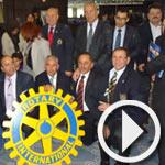 Action 'Don de 250 chaises roulantes' par le Rotary Club Tunis Golfe