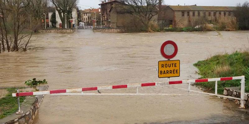 Tempête Gloria dans le sud de la France, près de 2.000 habitants évacués