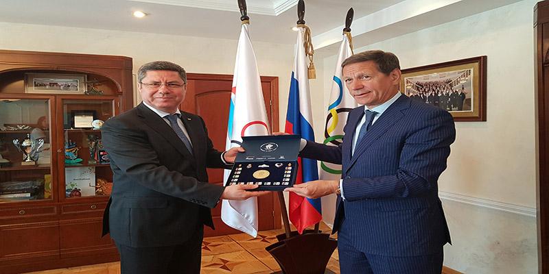 Horizons de coopération prometteurs entre les CNOs Russe et Tunisien