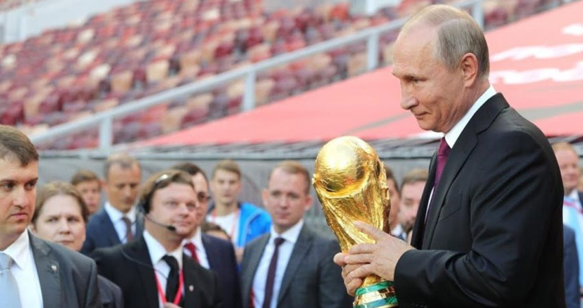 بعد المونديال.. بوتن يسعى لاستضافة الأولمبياد