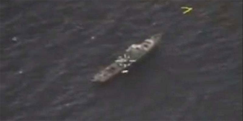 صاروخ روسي يصيب فرقاطة في مقتل قرب السواحل السورية