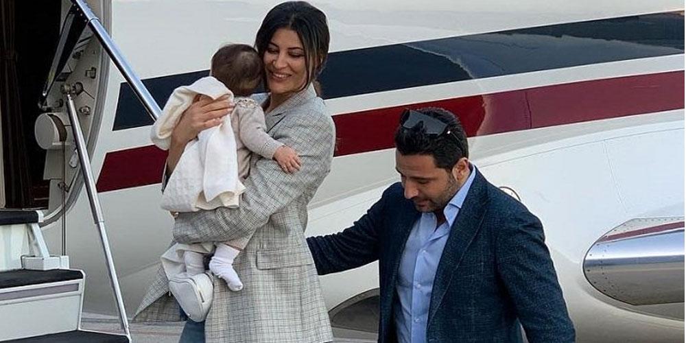 صورة..ريم السعيدي تكشف عن وجه إبنتها الثانية