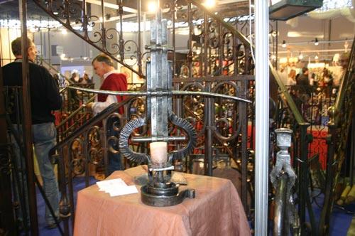 Salon de l'artisanat : l'art du métal et du fer forgé
