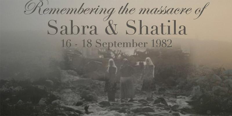 Aujourd'hui, le 37ème anniversaire du massacre de Sabra et Chatila