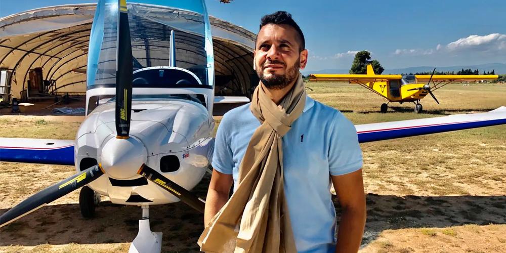 Le Tunisien Sabri Ben Hassen bat le record du monde en ULM