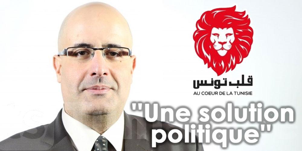 ''Notre objectif, c'est une solution politique''