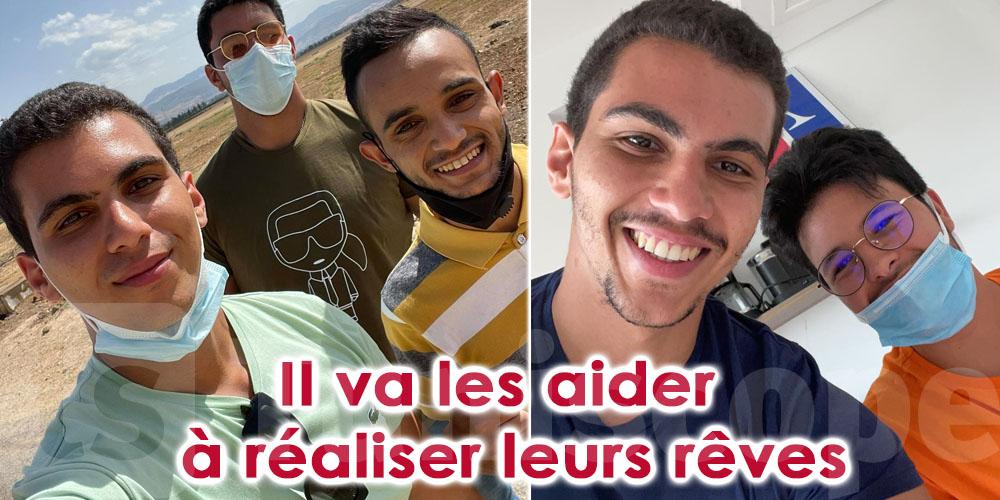 En photos: Saeed Zarrouk aide des lauréats du bac à réaliser leurs rêves