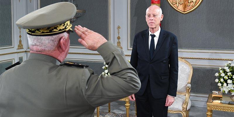 رئيس الجمهورية يلتقي مدير عام وكالة الاستخبارات