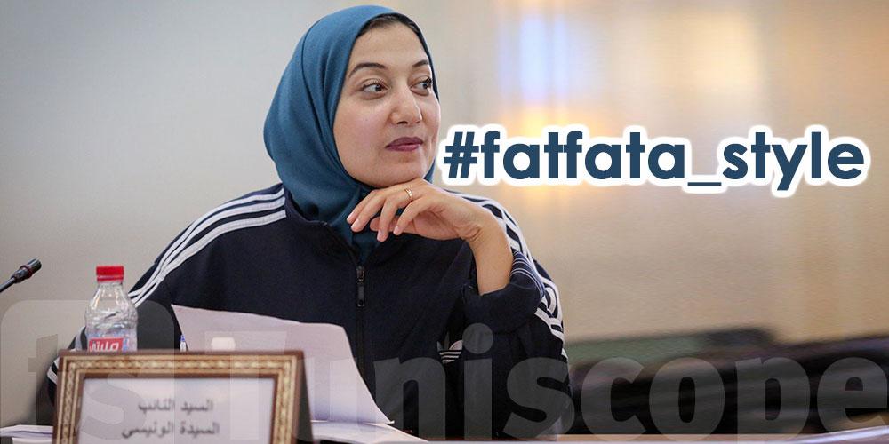 Saida Lounissi adopte Fatfata style et l'assume
