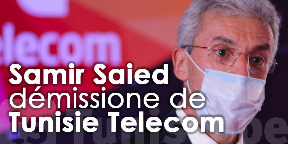 Samir Saied démissone de Tunisie Telecom