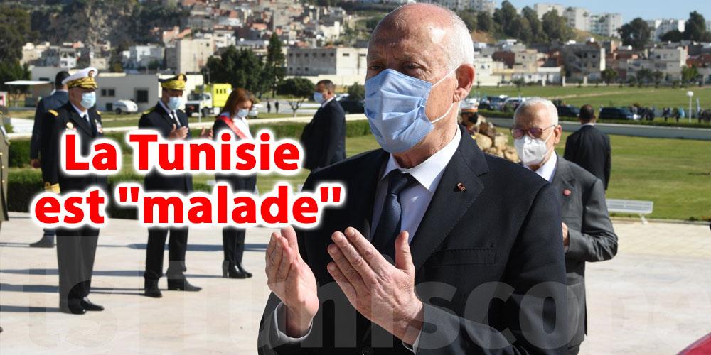 En vidéo...Kaïs Saïed: La Tunisie est ''malade'' et voici le remède
