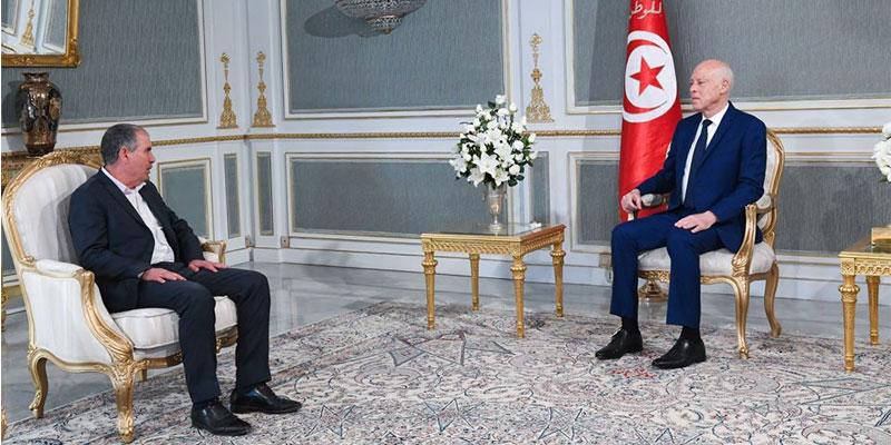 Kaïs Saïed Reçoit Tabboubi