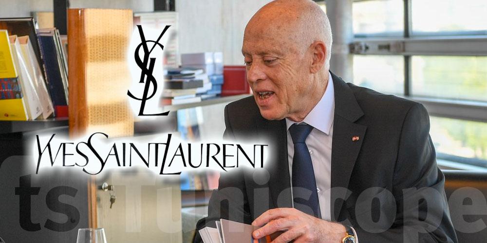 En vidéo : Quand Kaïs Saïed parle de Yves Saint Laurent