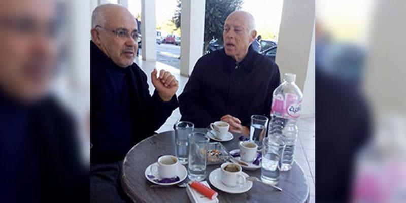 Kais Said : Un café n'est pas une adhésion aux idées