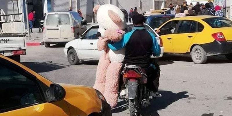 Photo du jour : Quand c'est l'amour qui commande, certains ont de l'audace