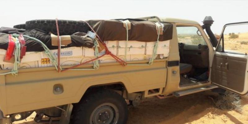 سوسة وسيدي بوزيد وصفاقس: ضبط 4 شاحنات نقل خفيف محملة ببضاعة مهربة
