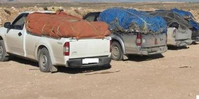 Saisie de marchandises de contrebande d'une valeur de 135 mille dinars