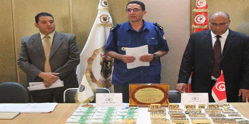 Saisie de marchandises de contrebande d'une valeur de 100 mille dinars
