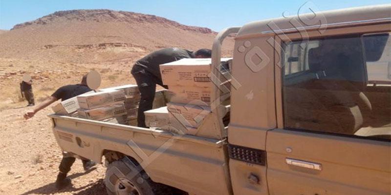 Saisie de marchandises de contrebande d'une valeur de 102 mille dinars