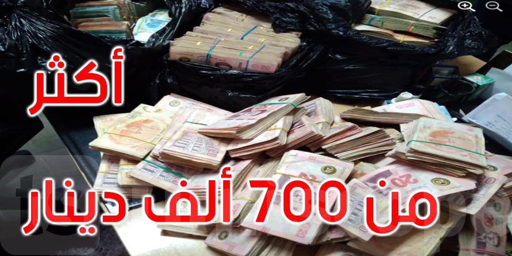 قليبية والمنستير: حجز مبالغ مالية وبضائع مهربة بقيمة تجاوزت 700 ألف دينار