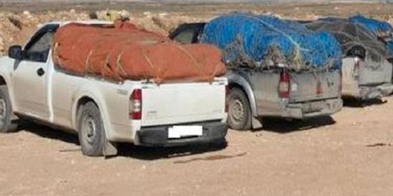 Saisie de marchandises de contrebande d'une valeur de 86 mille dinars