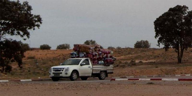 Saisie de marchandises de contrebande d'une valeur de 98 mille dinars