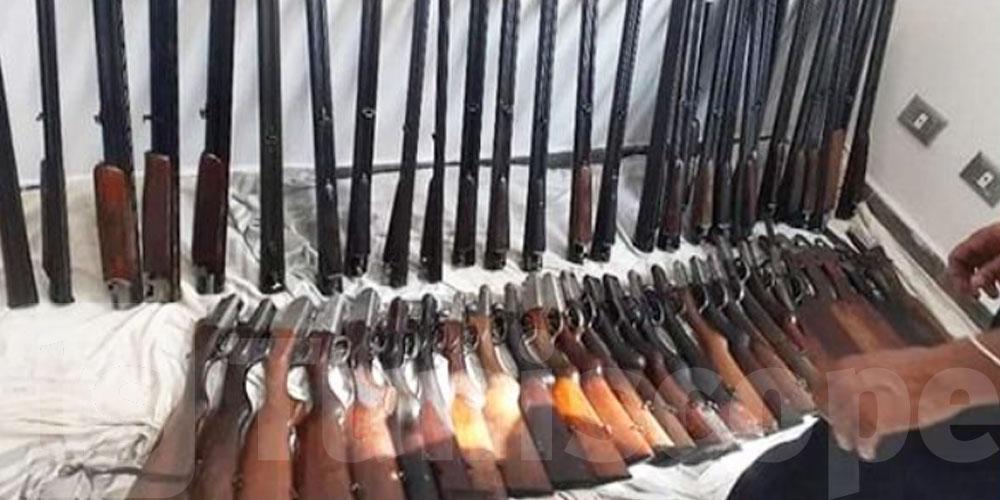 إحباط محاولة إدخال 29 بندقية صيد عبر ميناء جرجيس