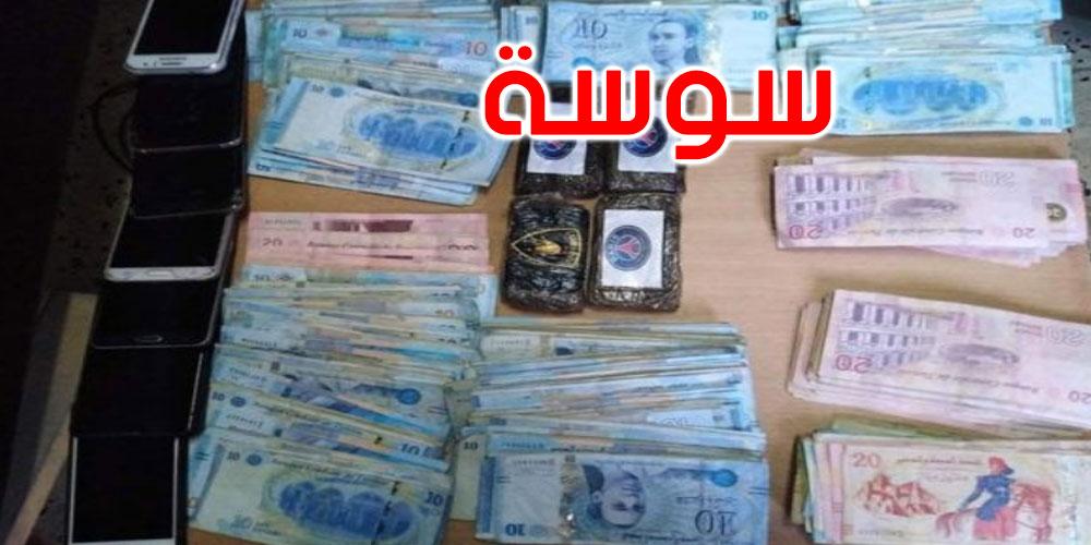 مساكن: إلقاء القبض على شخص وحجز كمية من المخدرات